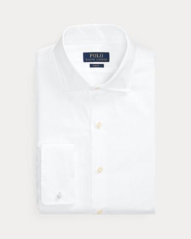폴로 랄프로렌 화이트 턱시도 셔츠 (슬림핏) Polo Ralph Lauren Slim Fit Tuxedo Shirt,White