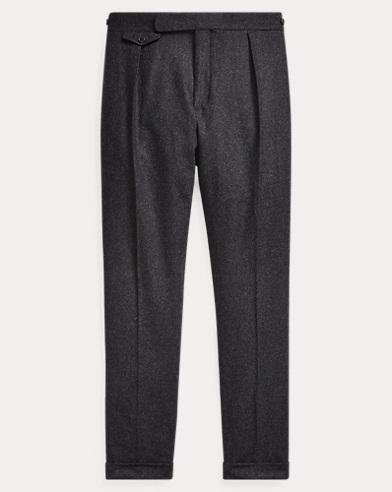 폴로 랄프로렌 Polo Ralph Lauren Wool Flannel Trouser,Charcoal