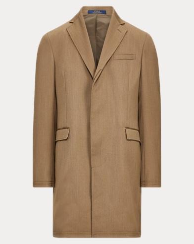 폴로 랄프로렌 클래식 탑코트 (올리브) Polo Ralph Lauren Morgan Wool Twill Topcoat,Olive