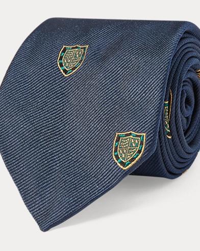 폴로 랄프로렌 Polo Ralph Lauren Silk Twill Narrow Club Tie,Green