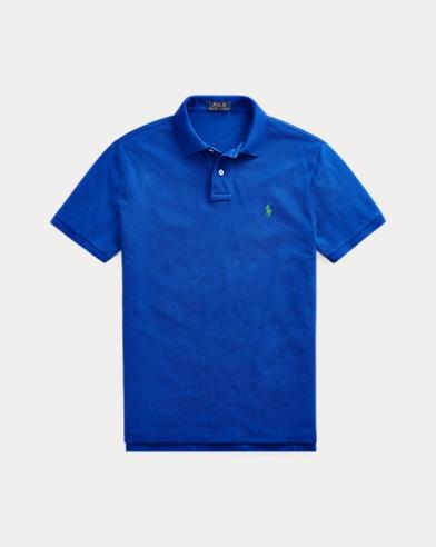 폴로 랄프로렌 Polo Ralph Lauren Classic Fit Mesh Polo Shirt,Rugby Royal