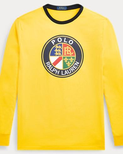 폴로 랄프로렌 '스키어' 티셔츠 옐로우 (클래식핏) Polo Ralph Lauren Classic Fit Cotton T-Shirt,Racing Yellow