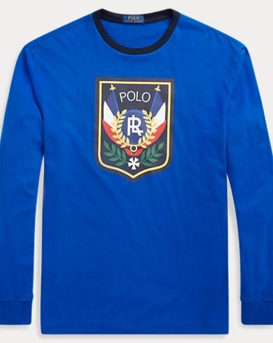 폴로 랄프로렌 '스키어' 티셔츠 사파이어 (클래식핏) Polo Ralph Lauren Classic Fit Cotton T-Shirt,Sapphire Star