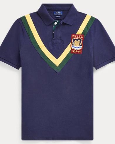 폴로 랄프로렌 Polo Ralph Lauren Classic Fit Mesh Polo Shirt,Cruise Navy Multi