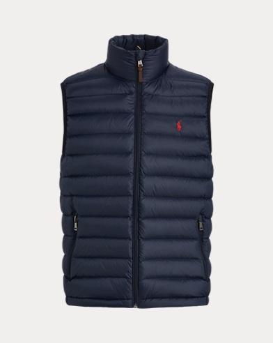 폴로 랄프로렌 Polo Ralph Lauren Packable Down Vest,Aviator Navy