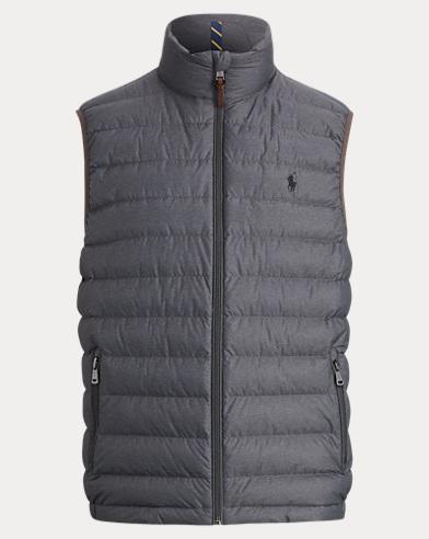 폴로 랄프로렌 패커플 패딩 다운 조끼 그레이 Polo Ralph Lauren Packable Down Vest,Windsor Heather