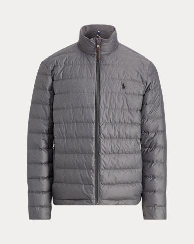 폴로 랄프로렌 패커블 패딩 다운 자켓 그레이 Polo Ralph Lauren Packable Quilted Down Coat,Windsor Heather