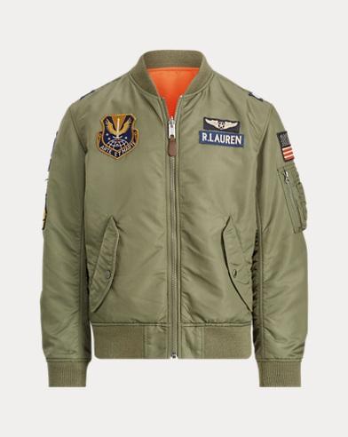 폴로 랄프로렌 리버시블 붐버 자켓 올리브 Polo Ralph Lauren Reversible Bomber Jacket,Bohemian Olive