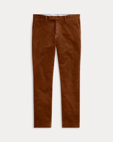폴로 랄프로렌 코듀로이 팬츠 브라운 (슬림핏) Polo Ralph Lauren Stretch Slim Fit Corduroy Pant,RL Brown