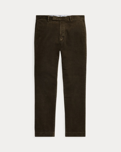 폴로 랄프로렌 코듀로이 팬츠 올리브 (슬림핏) Polo Ralph Lauren Stretch Slim Fit Corduroy Pant,Company Olive