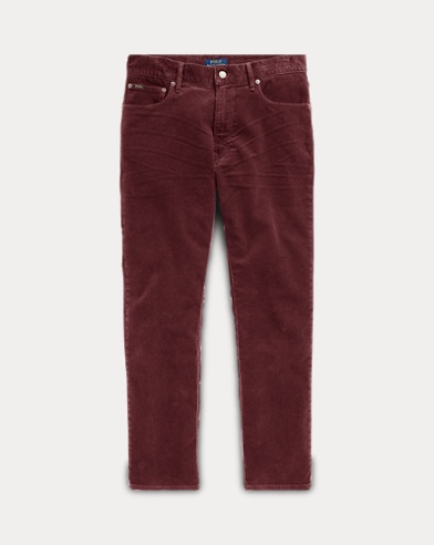 폴로 랄프로렌 코듀로이 팬츠 버건디 (슬림핏) Polo Ralph Lauren Stretch Slim Fit Corduroy Pant,Vintage Burgundy