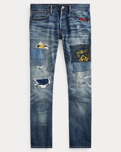 폴로 랄프로렌 Polo Ralph Lauren Hampton Relaxed Straight Jean,Howell Nov V2 Wash