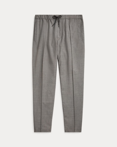 폴로 랄프로렌 울혼방 스트링 팬츠 (릴렉스 핏) Polo Ralph Lauren Relaxed Fit Wool-Blend Pant,Mid Grey Trop Wool