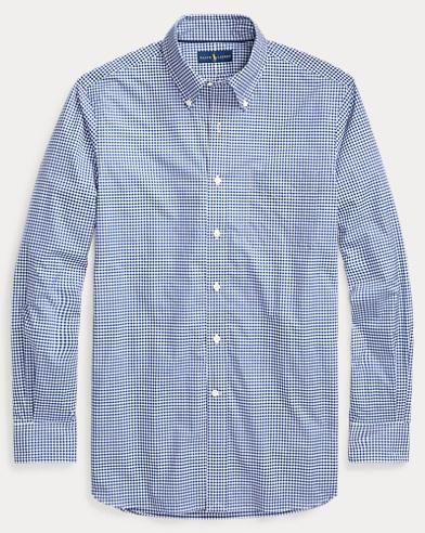 폴로 랄프로렌 Polo Ralph Lauren Classic Fit Gingham Shirt,Blue/White