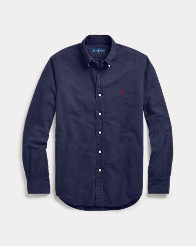 폴로 랄프로렌 클래식핏 옥스포드 셔츠 - 네이비 Polo Ralph Lauren Classic Fit Oxford Shirt,RL Navy