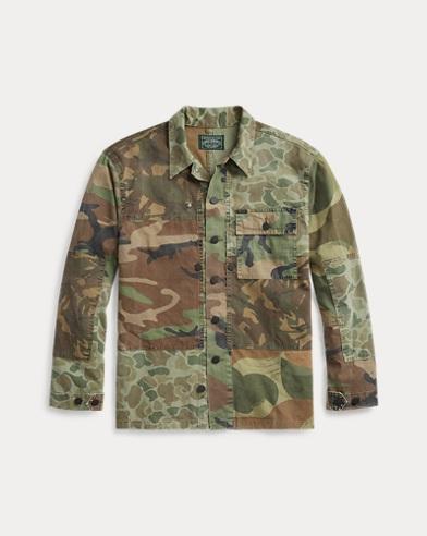 폴로 랄프로렌 카모 트윌 셔츠 (클래식 핏) Polo Ralph Lauren Classic Fit Camo Twill Shirt,2784 Camo