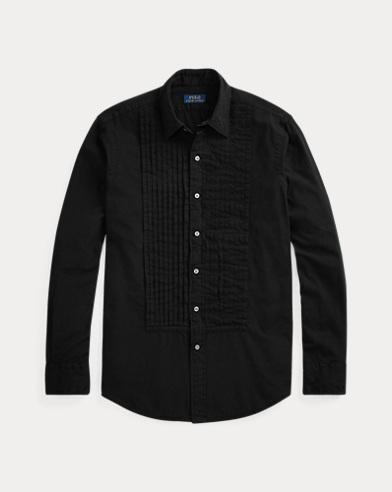 폴로 랄프로렌 블랙 턱시도 셔츠 (클래식 핏) Polo Ralph Lauren Classic Fit Tuxedo Shirt,Polo Black