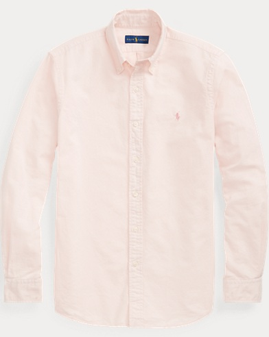 폴로 랄프로렌 Polo Ralph Lauren Pink Pony Classic Fit Shirt,Love Pink