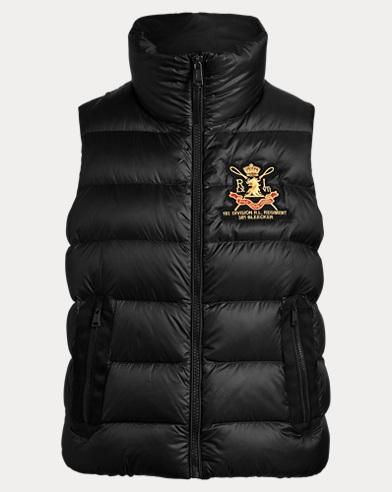 폴로 랄프로렌 Polo Ralph Lauren Crest Down Vest,Polo Black
