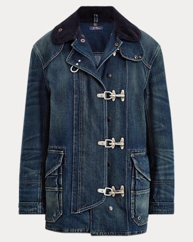 폴로 랄프로렌 파이어맨 청자켓 Polo Ralph Lauren Denim Fireman's Jacket,Dark Indigo