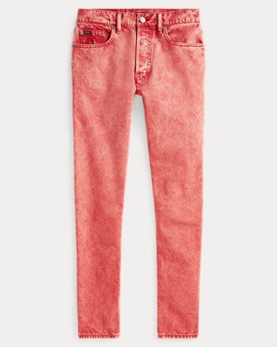 폴로 랄프로렌 Polo Ralph Lauren Callen High Rise Slim Jean,Red
