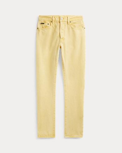 폴로 랄프로렌 Polo Ralph Lauren Callen High Rise Slim Jean,Yellow