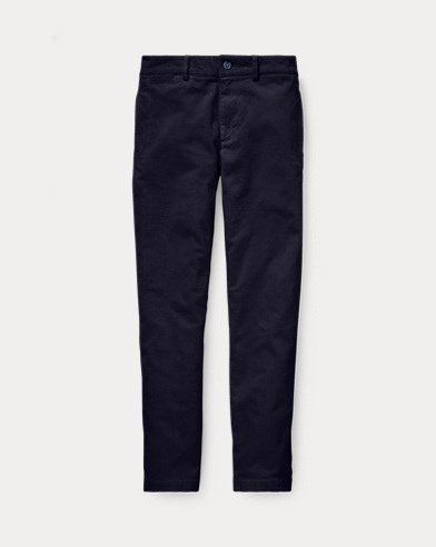폴로 랄프로렌 보이즈 바지 네이비 Polo Ralph Lauren Slim Fit Stretch Corduroy Pant,RL Navy