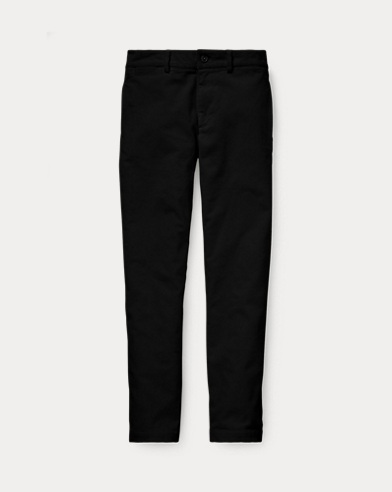 폴로 랄프로렌 보이즈 바지 블랙 Polo Ralph Lauren Slim Fit Stretch Corduroy Pant,Polo Black