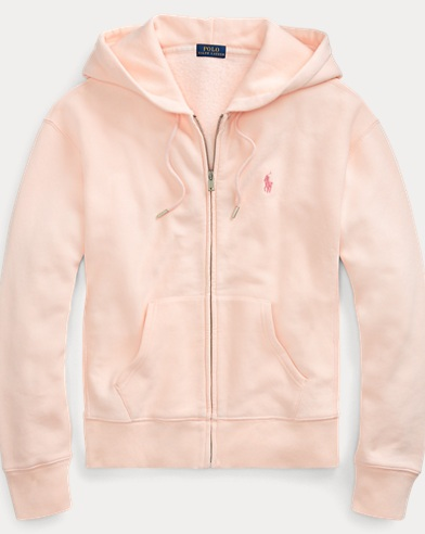 폴로 랄프로렌 Polo Ralph Lauren Pink Pony Fleece Zip Hoodie,Love Pink