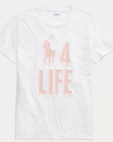 폴로 랄프로렌 Polo Ralph Lauren Pink Pony Graphic T-Shirt,White