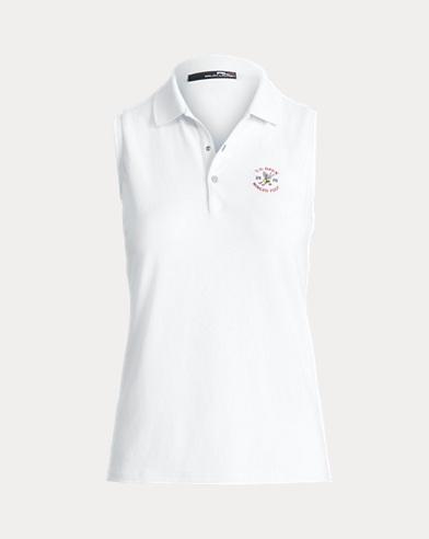 폴로 랄프로렌 민소매 카라티 화이트 Polo Ralph Lauren Tailored Fit Golf Polo Shirt,Pure White