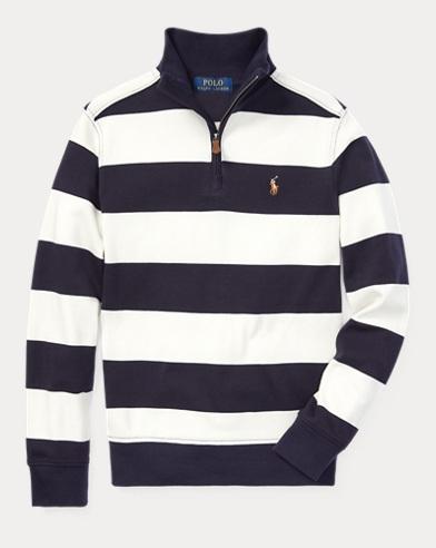폴로 랄프로렌 보이즈 스프라이트 풀오버 Polo Ralph Lauren Striped Cotton Pullover,Chic Cream Multi