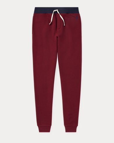 폴로 랄프로렌 보이즈 바지 클래식 와인 Polo Ralph Lauren Cotton-Blend-Fleece Jogger,Classic Wine
