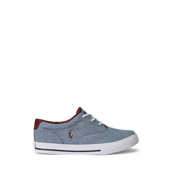 Ralph Lauren - Sneaker Vaughn II aus Segeltuch - 1