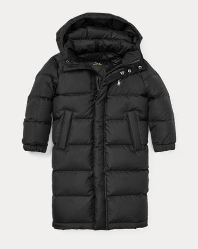 폴로 랄프로렌 남아용 650필 파워 롱패딩 블랙 Polo Ralph Lauren Quilted Long Down Coat,Polo Black