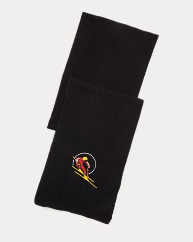 폴로 랄프로렌 Polo Ralph Lauren Ski Scarf,Polo Black