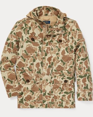 폴로 랄프로렌 보이즈 카모 필드 자켓 Polo Ralph Lauren Camo Chino Field Jacket,Camo