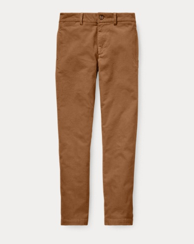 폴로 랄프로렌 보이즈 바지 다크 베이지 Polo Ralph Lauren Slim Fit Stretch Corduroy Pant,Dark Beige
