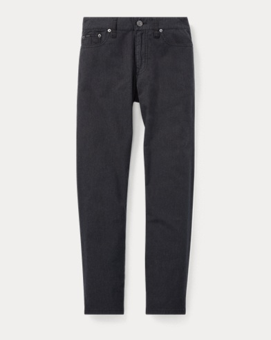 폴로 랄프로렌 보이즈 바지 다크 차콜 Polo Ralph Lauren Slim Fit Stretch Flannel Pant,Dark Charcoal Heather