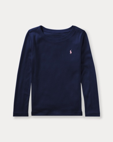 폴로 랄프로렌 Polo Ralph Lauren Pony Long-Sleeved Tee,French Navy