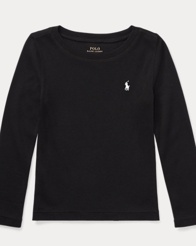 폴로 랄프로렌 Polo Ralph Lauren Pony Long-Sleeved Tee,Polo Black