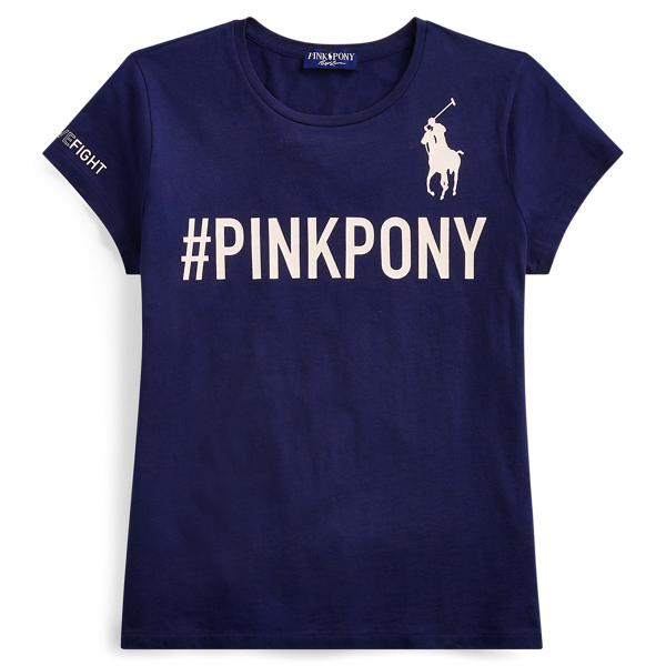 Ralph Lauren - Pink Pony Graphic T-Shirt - 1