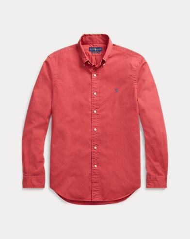 폴로 랄프로렌 Polo Ralph Lauren Classic Fit Oxford Shirt,Chili Pepper