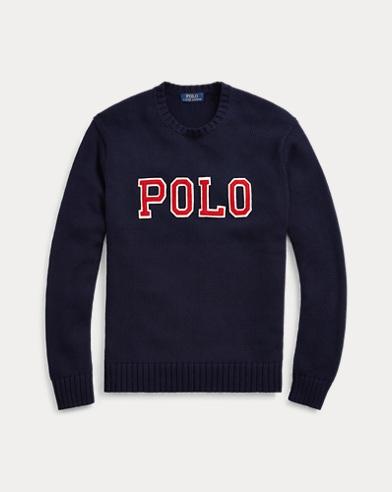 폴로 랄프로렌 Polo Ralph Lauren Cotton Crewneck Sweater,헌터 Hunter Navy