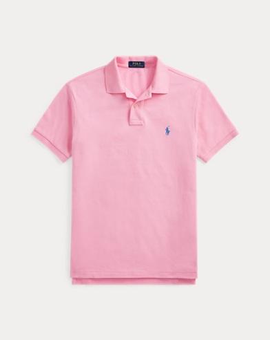 폴로 랄프로렌 Polo Ralph Lauren Slim Fit Mesh Polo Shirt,Taylor Rose