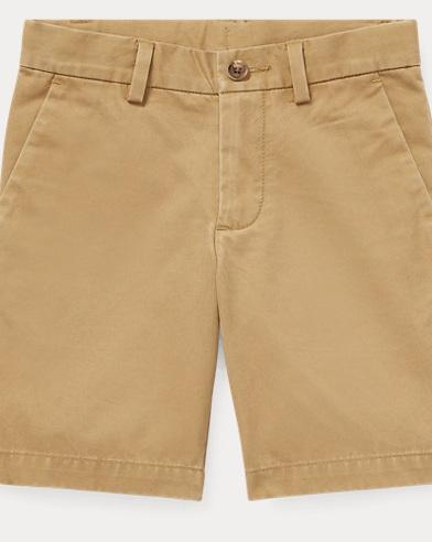 폴로 랄프로렌 Polo Ralph Lauren Slim Fit Cotton Chino Short,Desert Khaki