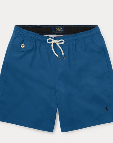 폴로 랄프로렌 Polo Ralph Lauren Traveler Swim Trunk,Retreat Blue