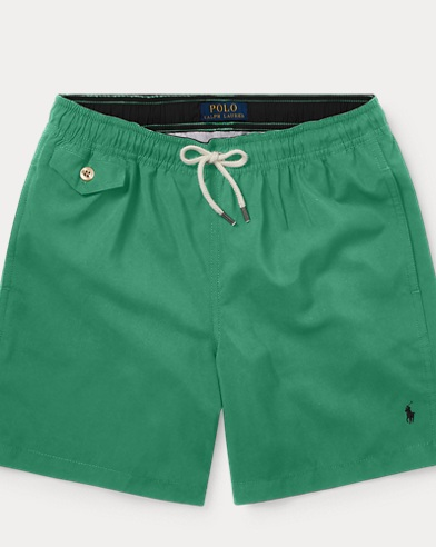 폴로 랄프로렌 Polo Ralph Lauren Traveler Swim Trunk,Haven Green