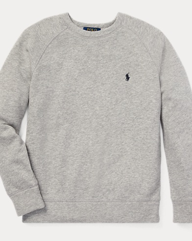폴로 랄프로렌 Polo Ralph Lauren Spa Terry Sweatshirt,Lt Grey Heather