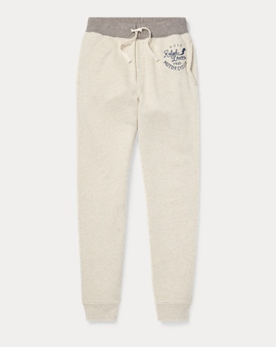 폴로 랄프로렌 Polo Ralph Lauren Twill Terry Jogger,New Sand Heather